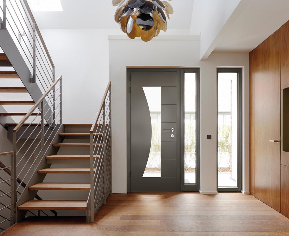 Aluminium Front Doors Shrewsbury