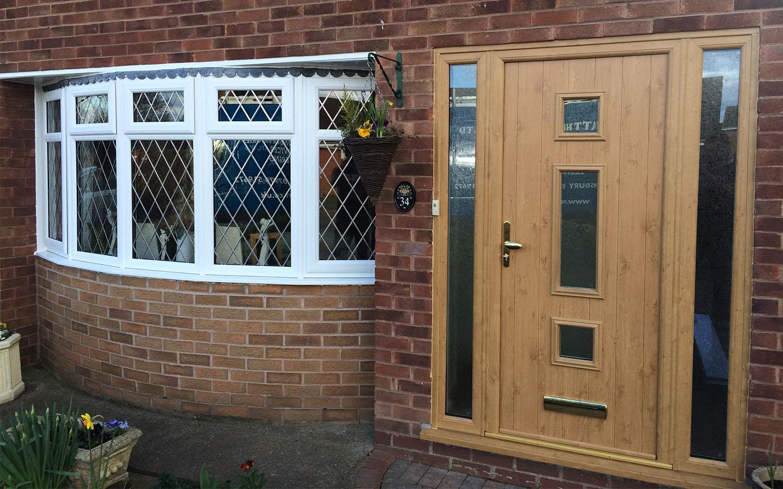 Wood Effect Composite Doors Shrewsbury